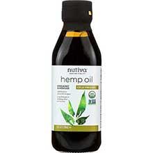 Nutiva Organic Hempseed Oil 8 Ounce