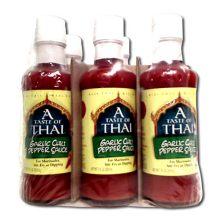 A Tast of Thai Garlic Chili Pepper Sauce