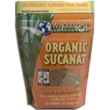 Wholesome Organic Sucanat 1 Pound