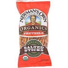 Newman Pretzels Salted Sticks - 8 Oz Pack