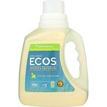 Earth Friendly Lemongrass Ultra Ecos Liquid Laundry Detergent 100 Ounce