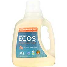 Earth Friendly Magnolia and Lilie Ultra Ecos Liquid Laundry Detergent 100 Ounce