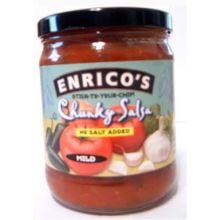 Enricos Organic and Natural Salsa