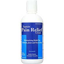 Topricin Anti Inflammatory Pain Relief and Healing Cream 8 Ounce