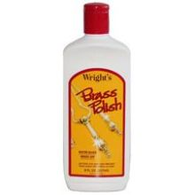 J A Wright Brass Polish Cleaner 8 Ounce 993188