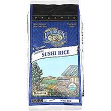 Lundberg Farms Organic California Short Grain White Sushi Rice 1 Pound