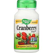 Natures Way Cranberry Fruit Capsule 465 Mg