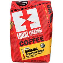 Equal Exchange Organic Drip Grind Breakfast Blend Coffee 12 Ounce