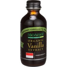 Frontier Herb Organic Gourmet Indonesia Vanilla Extract 2 Ounce