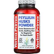 Yerba Prima Psyllium Husks Powder 12 Ounce