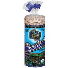 Lundberg Farms Organic Brown Rice Cake 8.5 Ounce