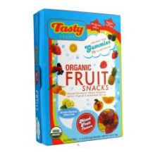 Organic Mixed Fruit Gummy Snack 4 Ounce