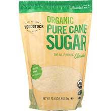 Woodstock Farms Organic Pure Cane Sugar 4.4 Pound