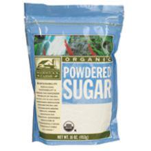 Woodstock Farms Organic Powdered Sugar 16 Ounce