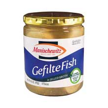 Gefilte Fish in Jelled Broth