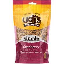 Gluten Free Cranberry Granola