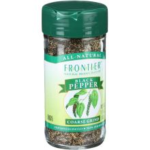 Frontier Herb Black Coarse Ground Pepper 1.69 Ounce