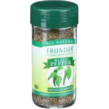 Frontier Herb Black Medium Grind Pepper 1.76 Ounce