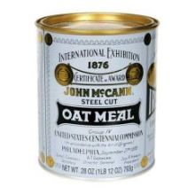 McCanns Steel Cut Irish Oatmeal Tin 28 Ounce