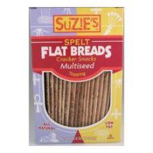 Suzies Spelt Multiseed Flat Bread 4.5 Ounce
