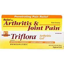 Boericke and Tafel Homeopathic Triflora Arthritis Gel 2.75 Ounce