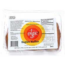 Ener G Foods English Muffin