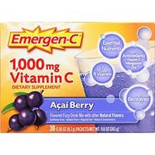 Emergen C Flavored Original Formula Fizzy Drink Mix