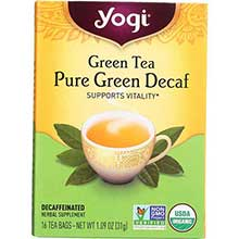 Organic Pure Decaffeinated Green Tea