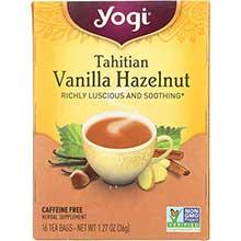 Tahitian Vanilla Hazelnut Herbal Tea