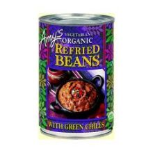 Organic Refried Bean with Green Chili