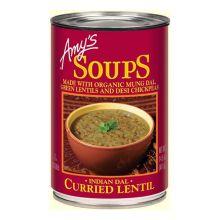 Organic Curried Lentil Soup
