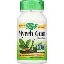 Natures Way Myrrh Gum Capsule 550 Milligram