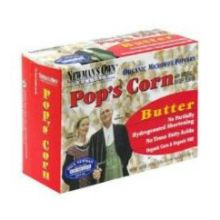 Organic Butter Flavored Microwave Popcorn