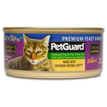 Pet Guard Premium Feast Dinner Canned Cat Food 5.5 Ounce