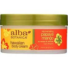 Alba Botanica Papaya Mango Body Cream 6.5 Ounce