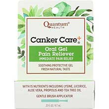Quantum Canker Care Plus Oral Pain Reliever 0.33 Ounce