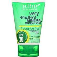Fragrance Free Mineral SPF 30 Sunblock