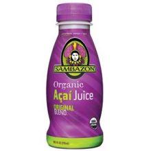 Sambazon Organic Acai Juice 10.5 Ounce