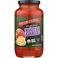 Muir Glen Pasta Sauce Fat Free Rosted Pepper - 25.5 Oz Pack