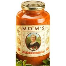 Moms Spaghetti Sauce Traditional Tomato and Basil Sauce 24 Ounce