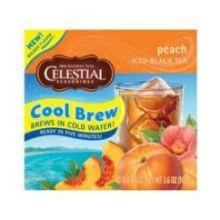 Celestial Seasoning Peach Cool Brew Iced Tea
