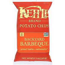 Kettle Foods Backyard Barbeque Potato Chips 5 Ounce