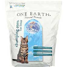 One Earth Natural Clumping Cat Litter 7 Pound