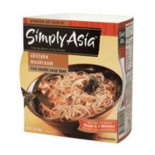 Simply Asia Shiitake Mushroom Rice Noodles Soup Bowl 2.5 Ounce