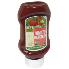 Woodstock Farms Organic Tomato Ketchup 20 Ounce Upside Down Squeeze Bottle