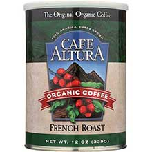 Cafe Altura Organic Roast Ground Coffee 12 Ounce