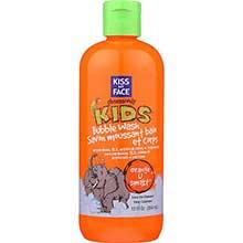 Kiss My Face Orange U Smart Bubble Wash 12 Ounce