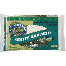 Lundberg Farms Eco Farmed White Arborio Rice 1 Pound
