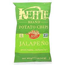 Kettle Foods Jalapeno Potato Chips 5 Ounce