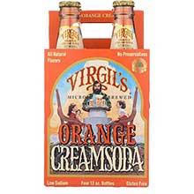 Virgils Orange Cream Soda 12 Ounce